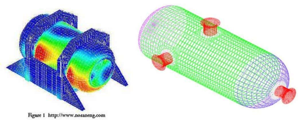 Sample of 3-D mesh Example of simulation and discretization of 3-D eng. problem Nov-14 Dr Mokhtar