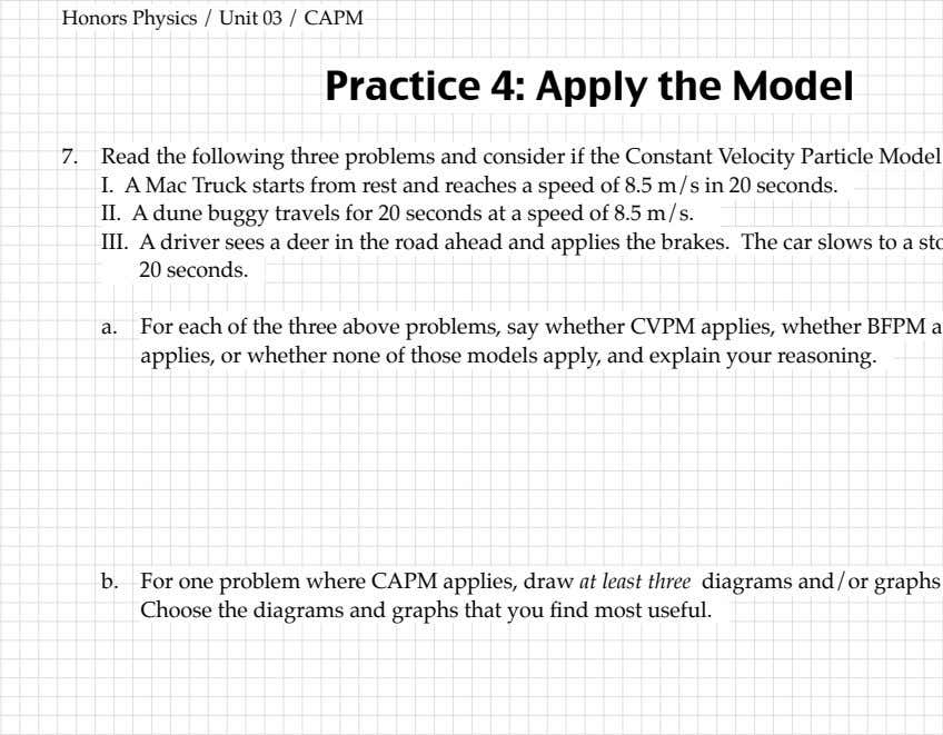 and/or graphs to illustrate the situation. whether none of those models apply, Choose the diagrams and