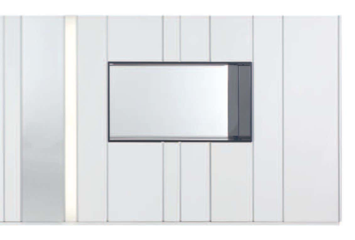 STRIPES A SYSTEM PROGRAMME WITH REDUCED-DEPTH CABINET BODIES TO MAKE THE BEST POSSIBLE USE OF EVERY