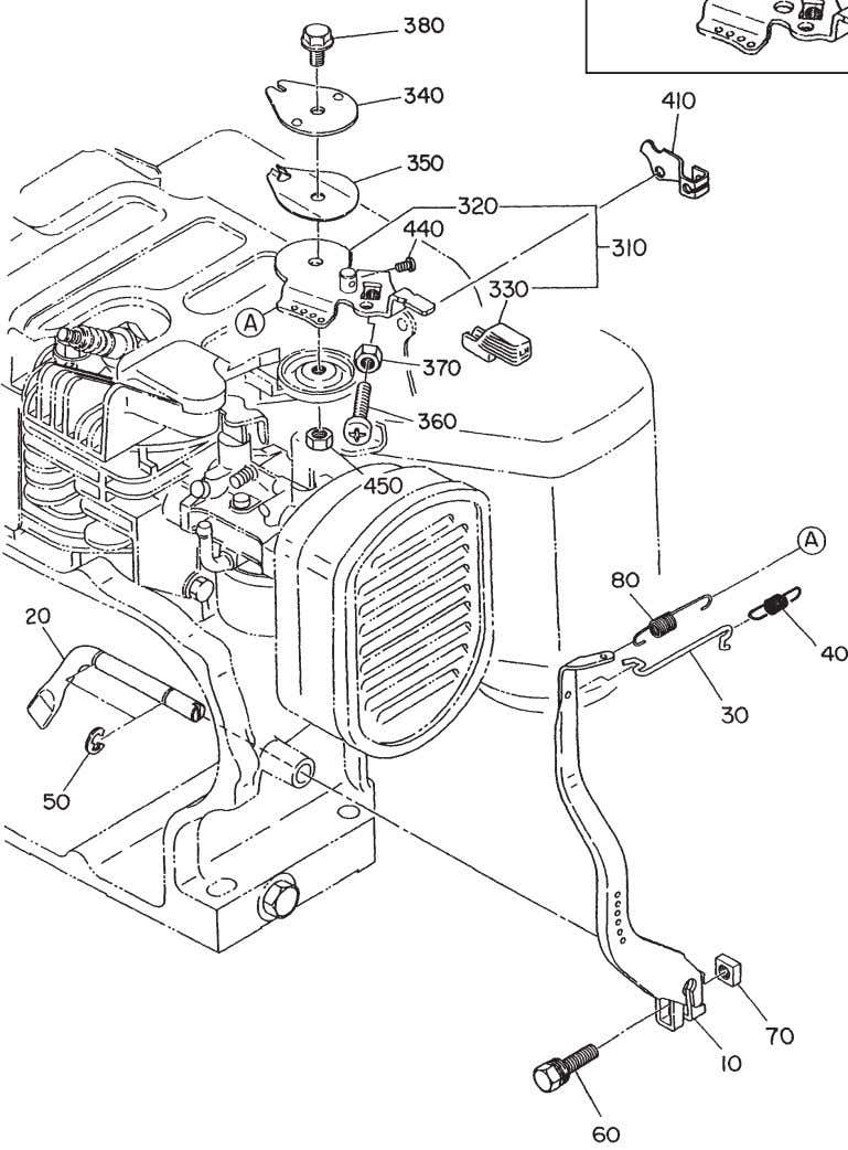 FIG. 400 MANUAL WITH UPPER REMOTE CABLE CONTROL MANUAL CONTROL ONLY