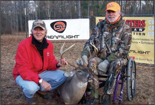 BADF LIFE HUNT – continued Jackie Bushman and Stan Arrington Stan Arrington, Rusty Morrow, and Jackie