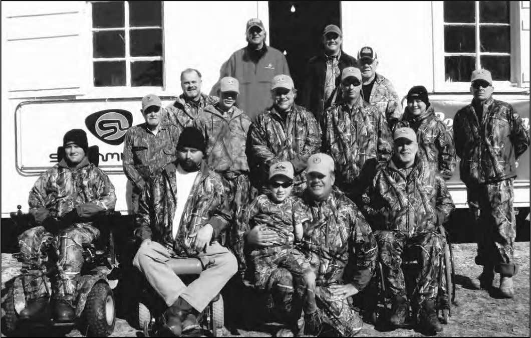 BADF LIFE HUNT – continued Life Hunters 2011 in their new hunting camo donated by Realtree
