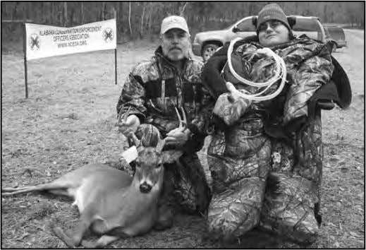 Hunters 2011 in their new hunting camo donated by Realtree Todd Heckert from Addieville, Illinois and