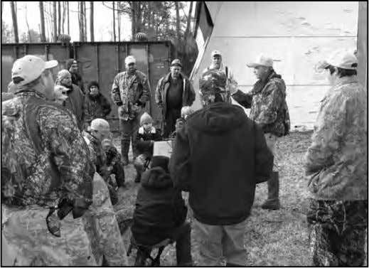 EDUCATION WORKSHOP – continued 68 ACE Magazine to the woods, fields and water and allow them