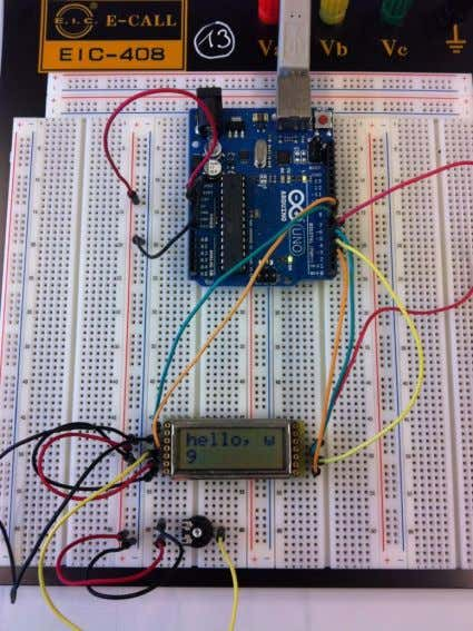 Connection of the LCD-Modules 16 x 2 8 x 2 10.10.2012 Arduino Uno 40