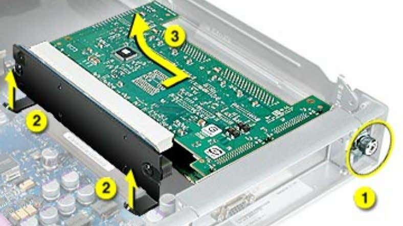 card ports clear the enclosure. Remove the riser and card(s) from the server. PCI or AGP