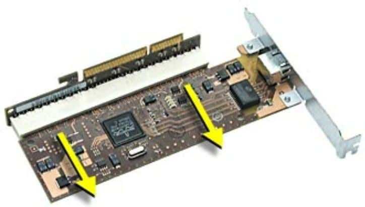 the riser and card from the server. 4. Disconnect the card from the riser. PCI or