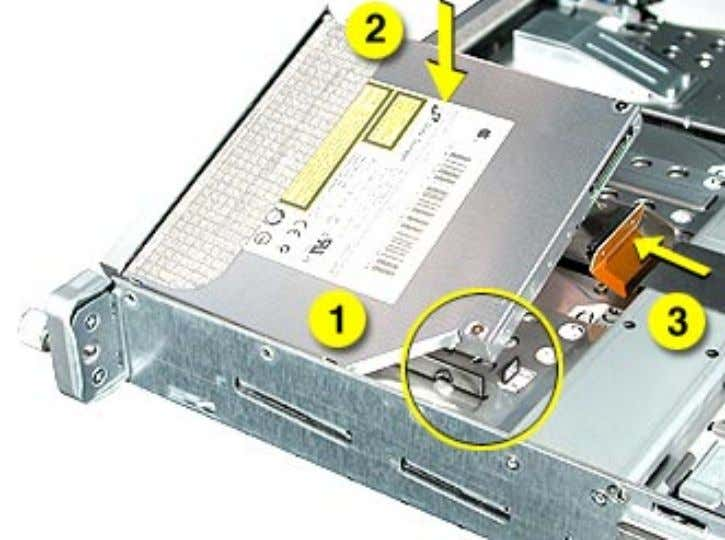 hear it snap into place. 12. Reconnect the optical drive cable to the drive. 18 -