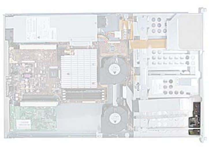 a sturdy, flat surface. • Remove the locking mechanism. Part Location 50 - Xserve Take Apart