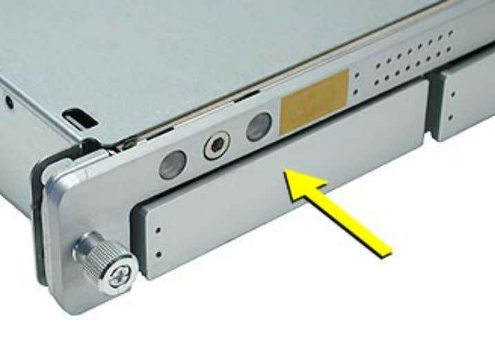 the front of the drive module so that the handle pops out. 4. Wait for the