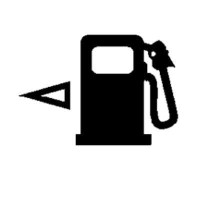 EQUIPMENT Instrument Cluster - Service Information - Nitro Fig. 20: Fuel Gauge Display Symbol Courtesy of