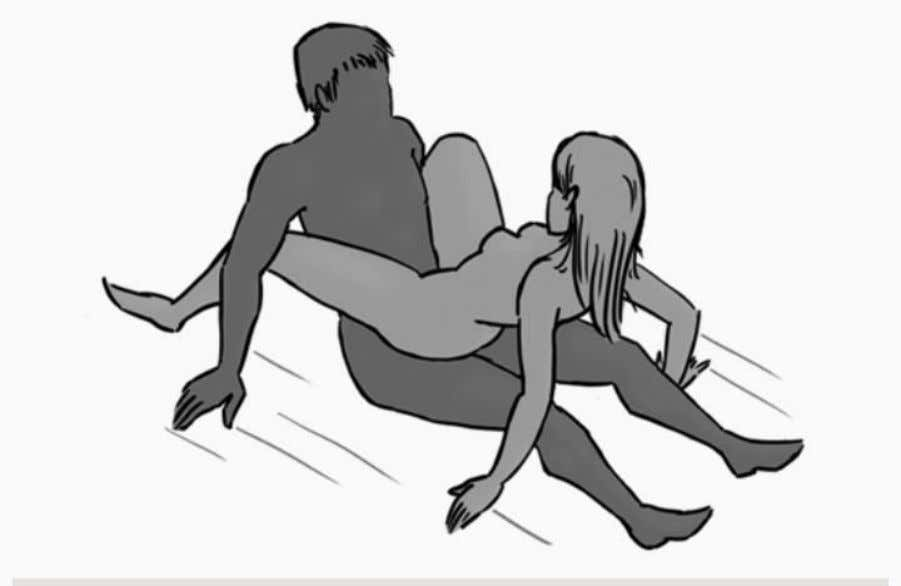 44. Fusion: it is a modified lounging position. It boost sexual pleasure by allowing better communication.