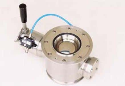 • Flip-flop valves for powder dosing in pressure systems 6. Controls Our control systems consist of