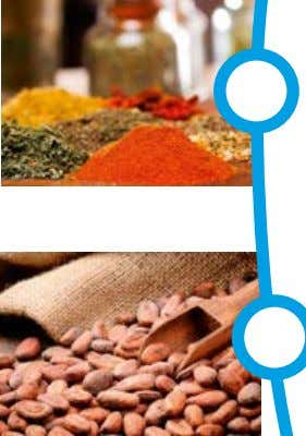 in accordance with EHEDG guidelines and 3-A sanitary standards Fruits & vegetables Fish Herbs & spices