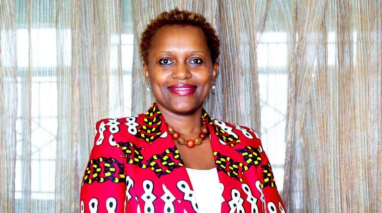 NEWSLETTER Rehema Muniu - Chief Executive Officer, Kenya Green Building Society New CEO for the Kenya