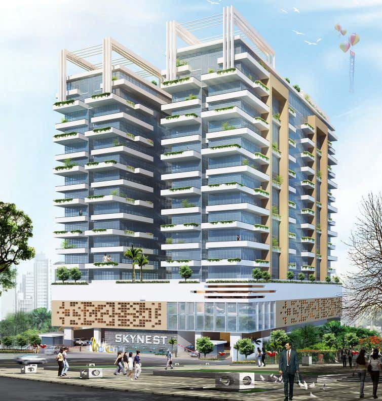 GREEN BUILDING CASE STUDY Skynest Apartments, Westlands Skynest is targeting LEED Certification to become among the
