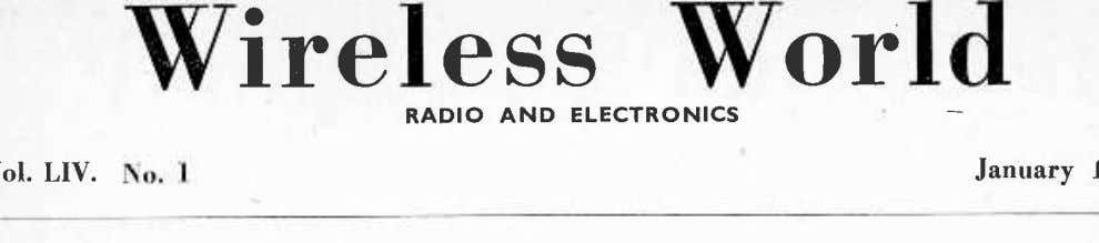 RADIO AND ELECTRONICS No. 1