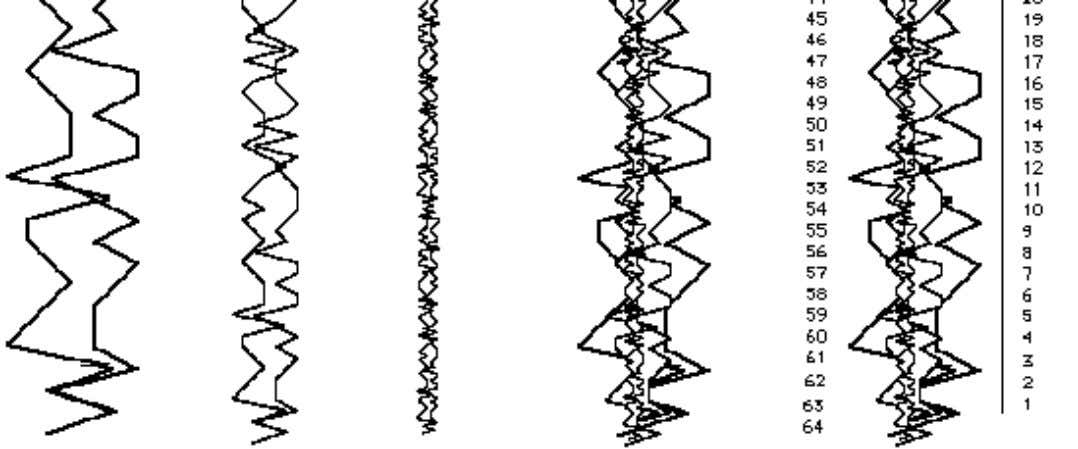 Where Did the Timewave Come From? Figure 4 Since a hexagram has six lines I visualized