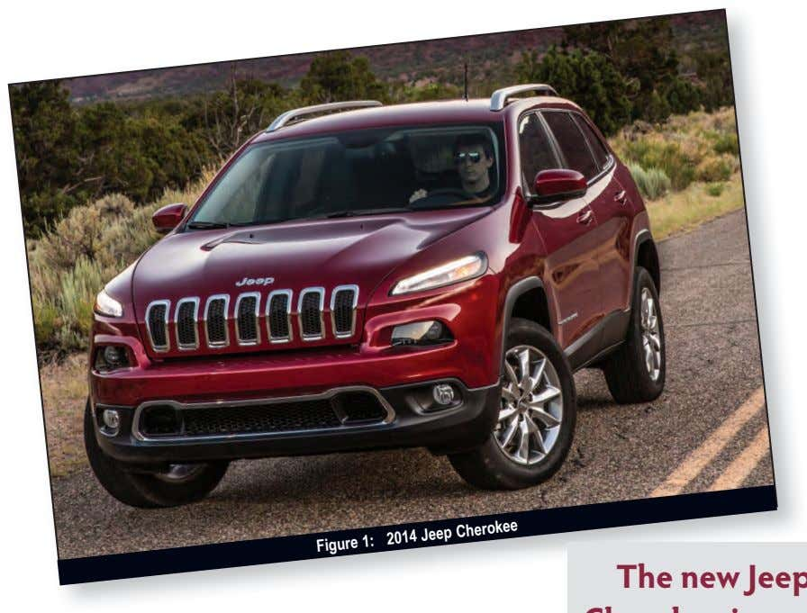 2014 Jeep Cherokee Figure 1: