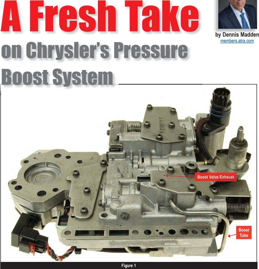 A Fresh Take by Dennis Madden members.atra.com on Chrysler's Pressure Boost System Boost Valve Exhaust
