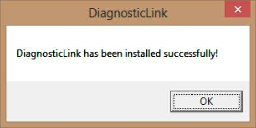 8.02 5.9 INSTALL DIAGNOSTICLINK (CONT.) Click Ok 5.10 INSTALL LEGACY TOOLS Legacy tools DDDL 6.50 and