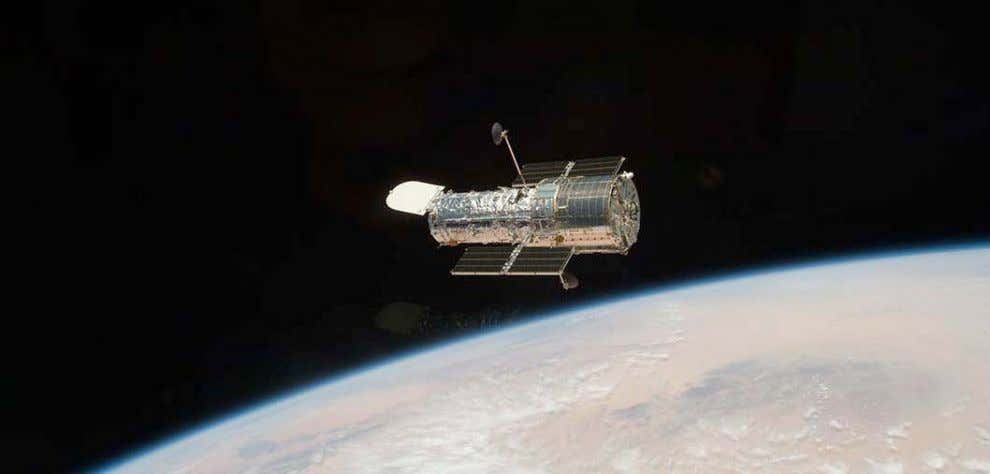 Since its launch in 1990, NASA ' s Hubble Space Telescope has made more than one