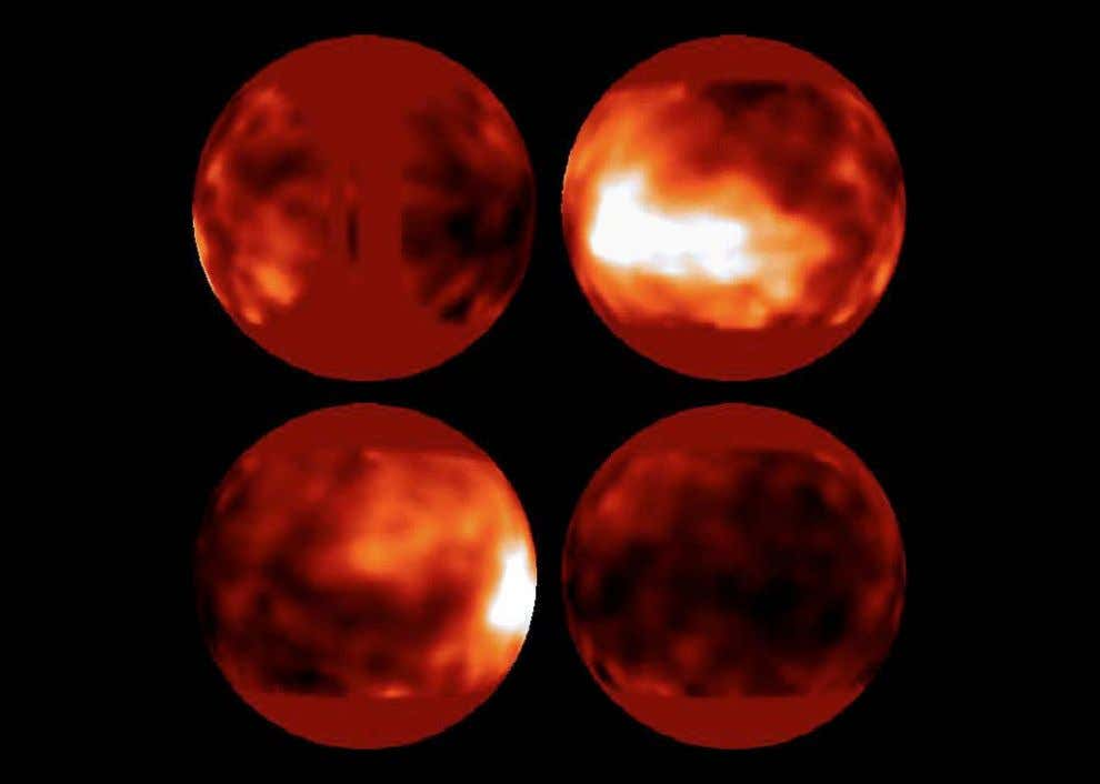 In 1994 astronomers used Hubble to obtain the first images of Titan ' s surface. At