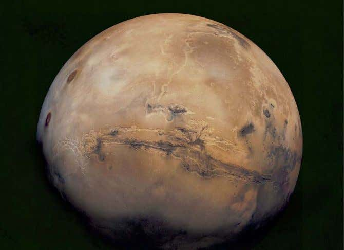 In the 1970s, Mars was intensively studied by two Viking orbiters and a pair of nuclear-