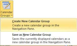 > Home > Manage Calendars > Calendar Groups . Now define the users-calendars you wish to