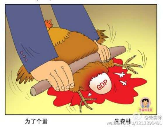 "10% – Autos 18% ""GDP: Killing the Hen to Get the Egg"" Source: ""GDP gap in"