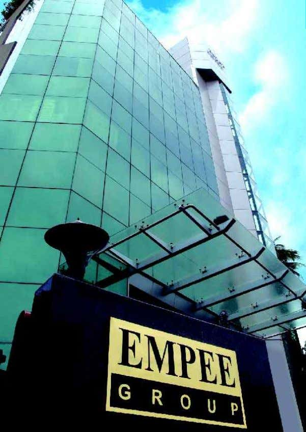 Our Group Companies 1 Empee Distilleries Limited 2 Empee Sugars & Chemicals Limited 3 Empee