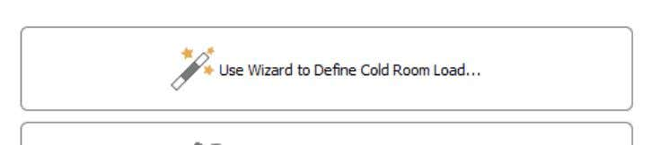 This is important to ensure the quality of the stored goods. Figure 3.1 Wizard for defining