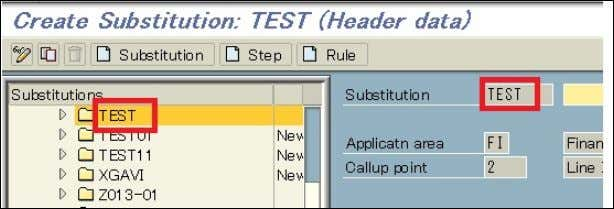 items' in the left Substitutions area as follow: (3) Press step button or (CTRL+SHIFT+F5). then tick