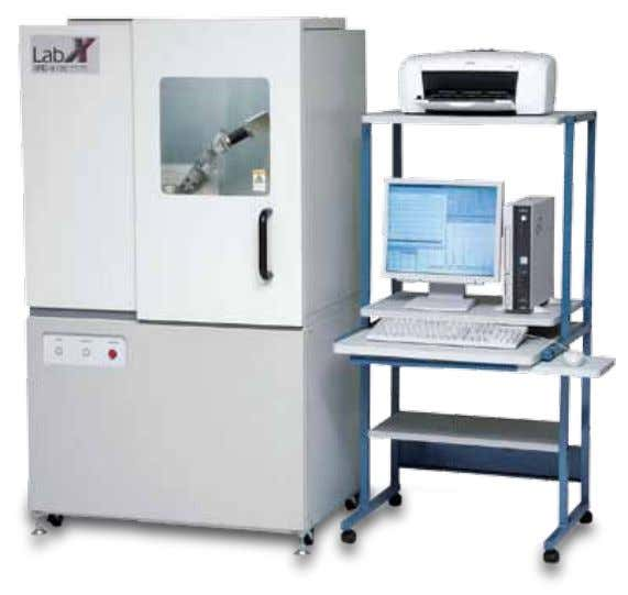with intuitive interface • Wide range of optional attachments for conceivable applications Excellence in Science 29