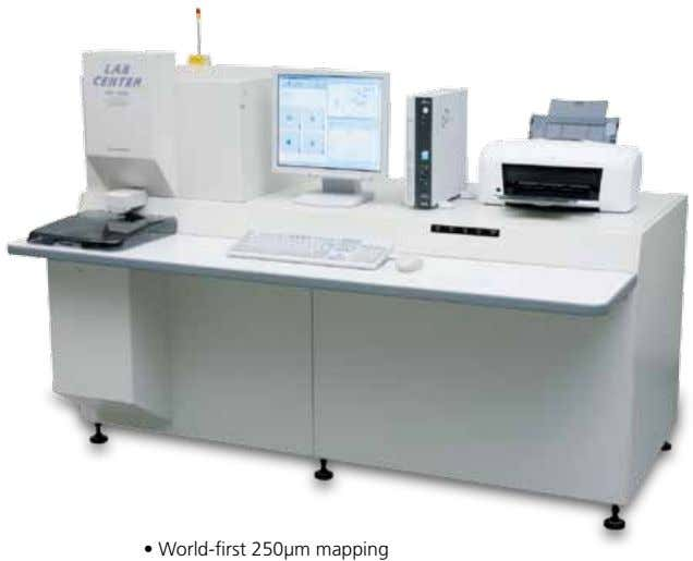 • World-first 250µm mapping