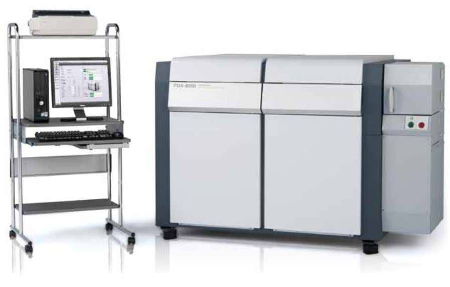 Optical Emission Spectrometer OES PDA-8000 Key Features and Capabilities • Top-tier spectrometer • Paschen-Runge