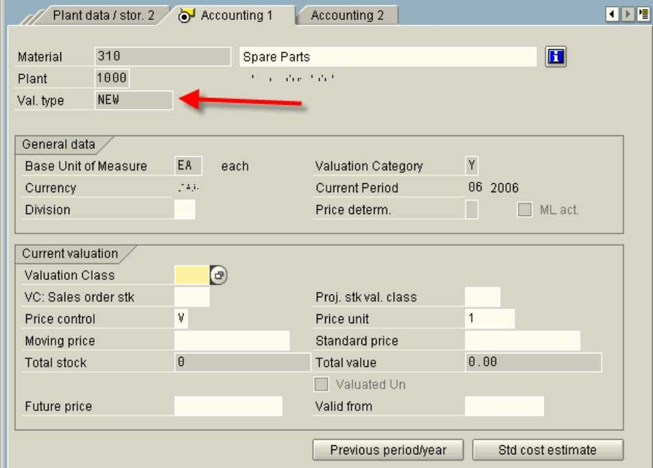 SAP123 - Split Valuation http://www.sap123.com/a/29/ USING SPLIT VALUATION IN TRANSACTIONS 1. Create Purchase Order -