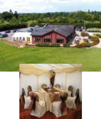 e-mail info@pryors-hayes.co.uk website www.pryorshayes.com • New Wedding Venue with op- tional marquee facilities and