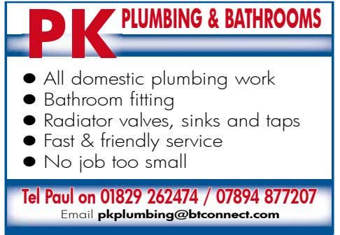 PK Plumbing&bathrooms l All domestic plumbing work l Bathroom fitting l Radiator valves, sinks and