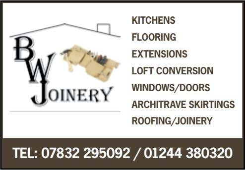 KITCHENS FLOORING EXTENSIONS LOFT CONVERSION WINDOWS/DOORS ARCHITRAVE SKIRTINGS ROOFING/JOINERY TEL: 07832 295092 /