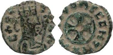 5: Gold coins of King Ezana, c. AD 320–360 British Museum Source 6: Copper coin, AD