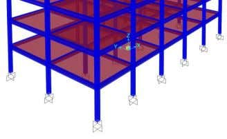 Volume 5, Issue 2, February (2014), pp. 09-19 © IAEME Fig.1. Model of fixed-base building as