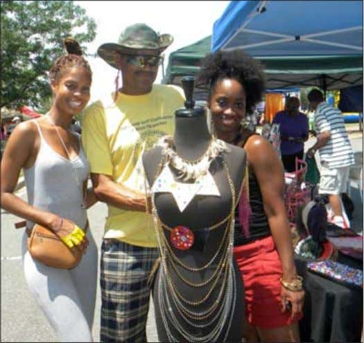 e-mail smcquilkin@ smadc.com Juneteenth Celebrates Community Photos by Sarah Miller Among the vendors at Juneteenth in