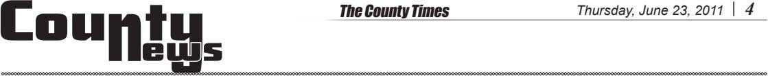 The County Times Thursday, June 23, 2011 4 ews