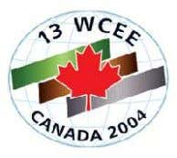 13 t h W o rld Conference on Earthquake Engineering Vancouver, B . C .