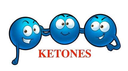 in the blood. So many ketones are found in the blood that your blood becomes too