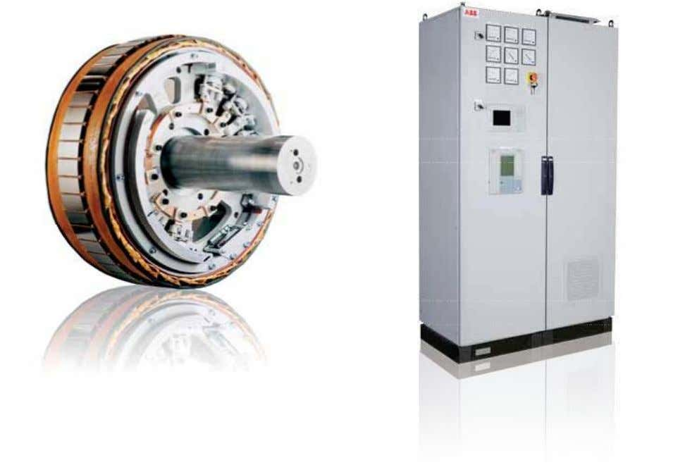 Higher speed motors Excitation control Lower speed motors Integration with plant automation systems