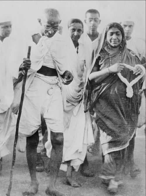 many a weary road traversed. But longer than any that 62 Gandhi and Sarojini Naidu on