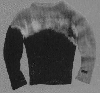 03 - Mohair Jumper Rattily knitted, these harked back to McLaren's days as a beatnik in