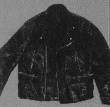 07 - Leather Jacket Originally sold as part of Too Fast To Live's ton-up collection, the